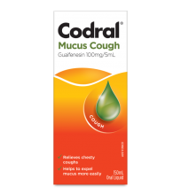 CODRAL® RELIEF® Mucus Cough Liquid with Warming Sensation