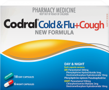 CODRAL® Cold & Flu + Cough