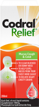 CODRAL® RELIEF® Mucus Cough & Cold Liquid